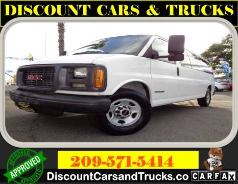 2000 GMC Savana Passenger for sale at Discount Cars & Trucks in Modesto CA
