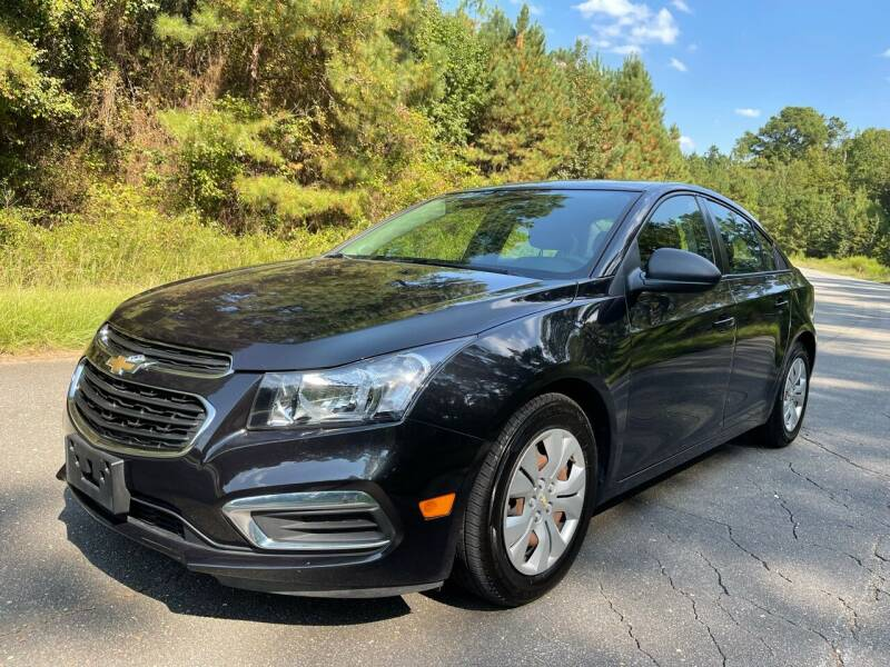 2016 Chevrolet Cruze Limited for sale at Carrera AutoHaus Inc in Clayton NC
