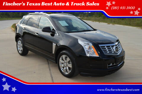2014 Cadillac SRX for sale at Fincher's Texas Best Auto & Truck Sales in Tomball TX