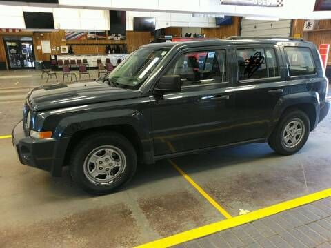 2008 Jeep Patriot for sale at BELOW BOOK AUTO SALES in Idaho Falls ID