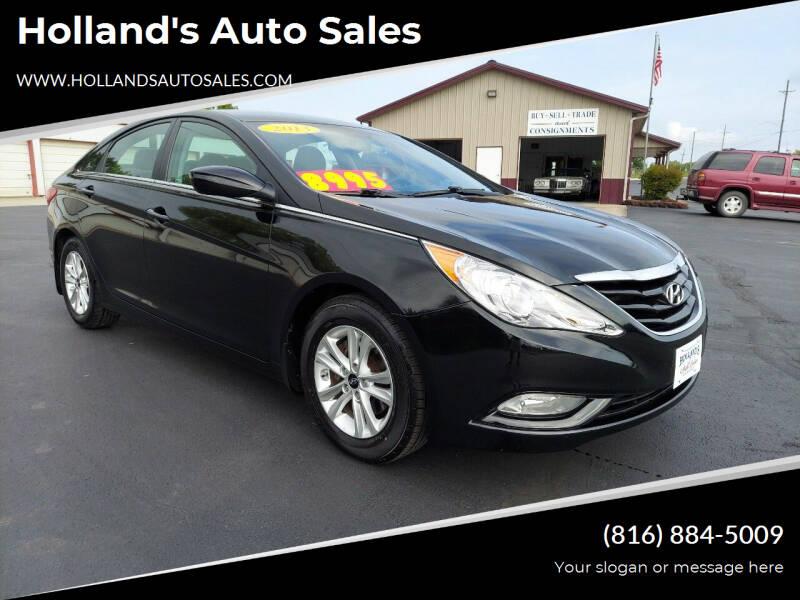 2013 Hyundai Sonata for sale at Holland's Auto Sales in Harrisonville MO