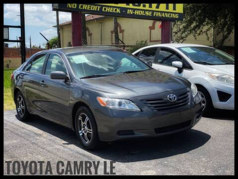 2007 Toyota Camry for sale at ASTRO MOTORS in Houston TX