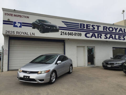 2007 Honda Civic for sale at Best Royal Car Sales in Dallas TX