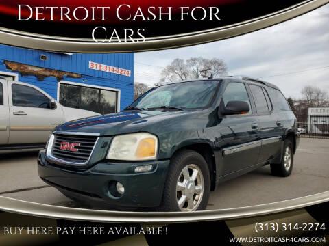 2004 GMC Envoy XUV for sale at Detroit Cash for Cars in Warren MI