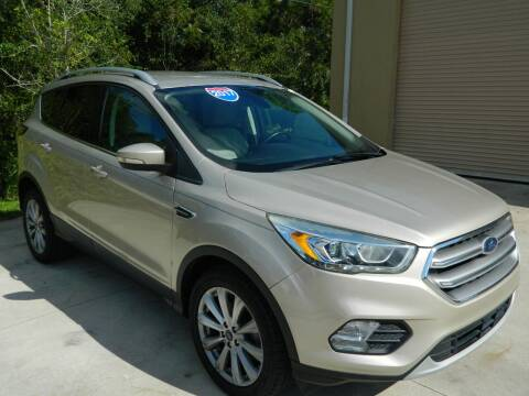 2017 Ford Escape for sale at Jeff's Auto Sales & Service in Port Charlotte FL