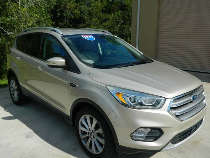2017 Ford Escape for sale at Jeff's Auto Sales & Service in Port Charlotte FL