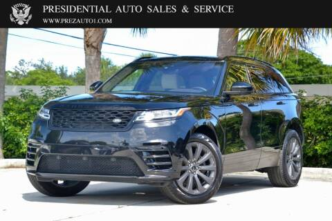 2018 Land Rover Range Rover Velar for sale at Presidential Auto  Sales & Service in Delray Beach FL