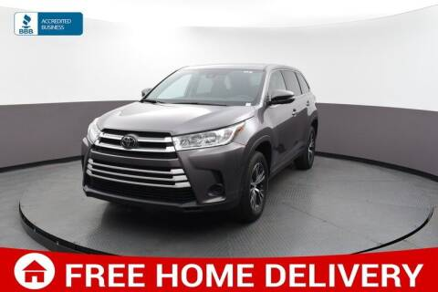 2019 Toyota Highlander for sale at Florida Fine Cars - West Palm Beach in West Palm Beach FL