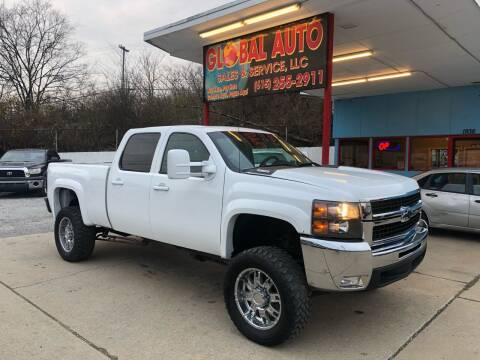 2009 Chevrolet Silverado 2500HD for sale at Global Auto Sales and Service in Nashville TN