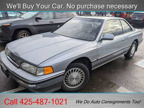 1990 Acura Legend for sale at Platinum Autos in Woodinville WA