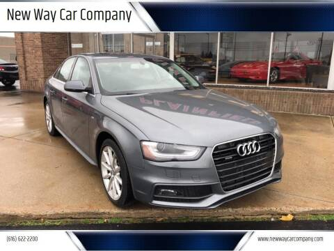 2014 Audi A4 for sale at New Way Car Company in Grand Rapids MI