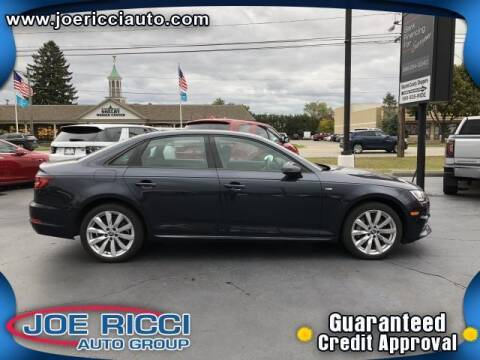 2018 Audi A4 for sale at Mr Intellectual Cars in Shelby Township MI