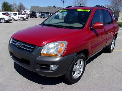 2008 Kia Sportage for sale at Ideal Auto Sales, Inc. in Waukesha WI