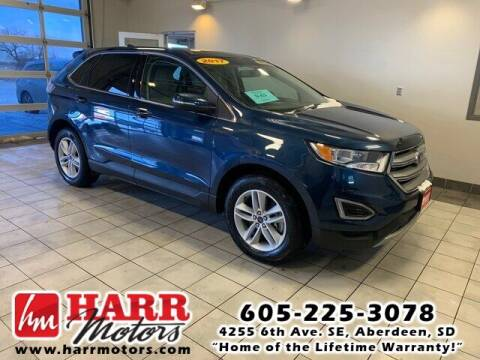 2017 Ford Edge for sale at Harr Motors Bargain Center in Aberdeen SD