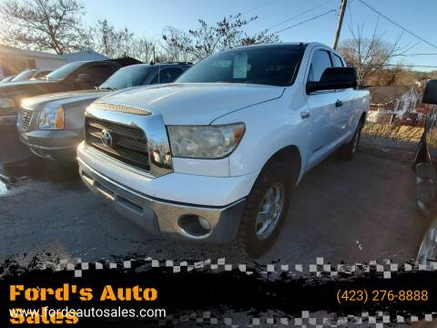 2008 Toyota Tundra for sale at Ford's Auto Sales in Kingsport TN