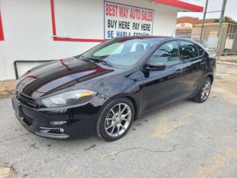 2014 Dodge Dart for sale at Best Way Auto Sales II in Houston TX