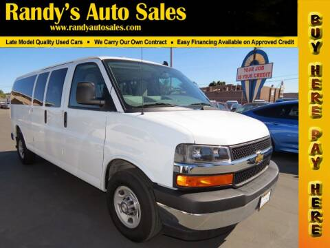 2017 Chevrolet Express Passenger for sale at Randy's Auto Sales in Ontario CA