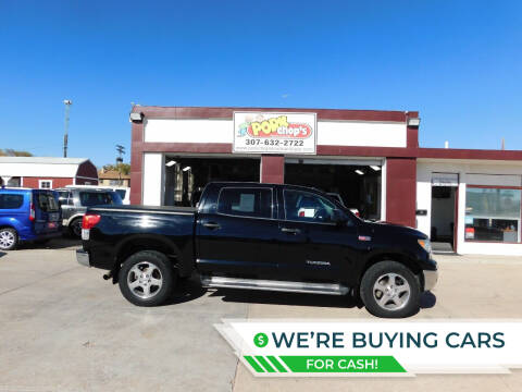 2012 Toyota Tundra for sale at Pork Chops Truck and Auto in Cheyenne WY