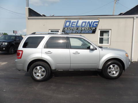 2012 Ford Escape for sale at DeLong Auto Group in Tipton IN