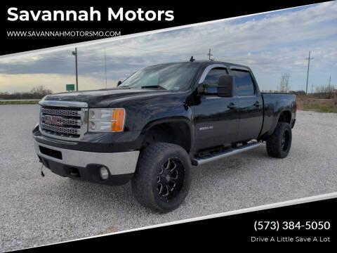 2012 GMC Sierra 2500HD for sale at Savannah Motors in Elsberry MO