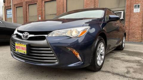 2017 Toyota Camry for sale at Rocky's Auto Sales in Worcester MA