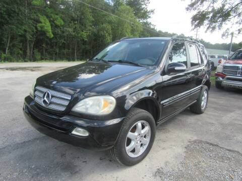 2004 Mercedes-Benz M-Class for sale at Bullet Motors Charleston Area in Summerville SC