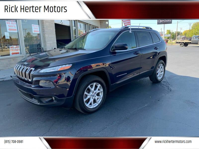 2014 Jeep Cherokee for sale at Rick Herter Motors in Loves Park IL