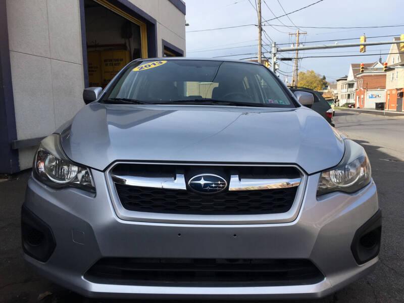 2013 Subaru Impreza for sale at B&T Auto Service in Syracuse NY