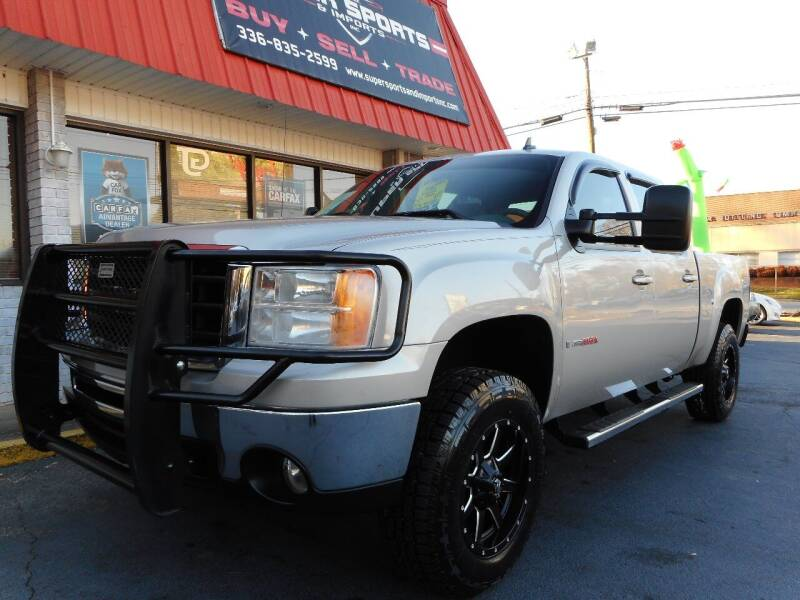 2007 GMC Sierra 1500 for sale at Super Sports & Imports in Jonesville NC