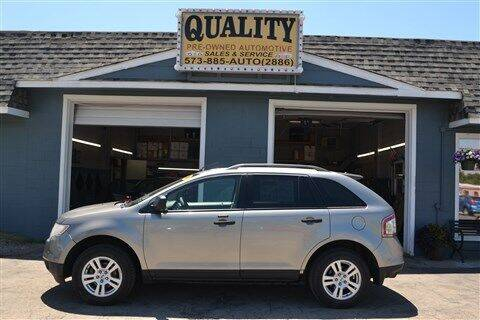 2008 Ford Edge for sale at Quality Pre-Owned Automotive in Cuba MO