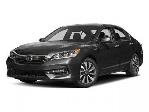 2017 Honda Accord Hybrid for sale at DAVID McDAVID HONDA OF IRVING in Irving TX