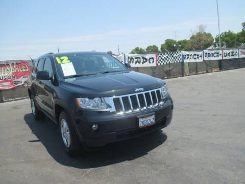 2012 Jeep Grand Cherokee for sale at Quick Auto Sales in Modesto CA