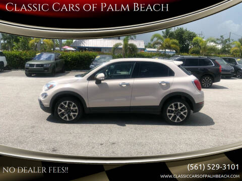 2016 FIAT 500X for sale at Classic Cars of Palm Beach in Jupiter FL