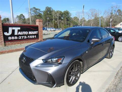 2017 Lexus IS 200t for sale at J T Auto Group in Sanford NC