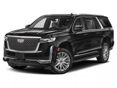 2021 Cadillac Escalade ESV for sale at Suburban Chevrolet in Claremore OK
