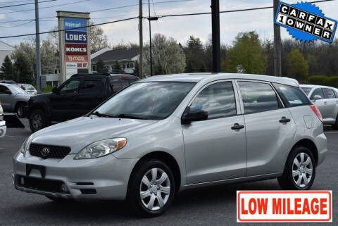 2004 Toyota Matrix for sale at Broadway Garage of Columbia County Inc. in Hudson NY
