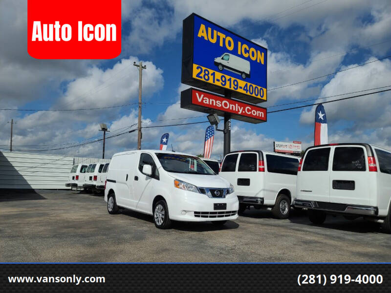 2018 Nissan NV200 for sale at Auto Icon in Houston TX