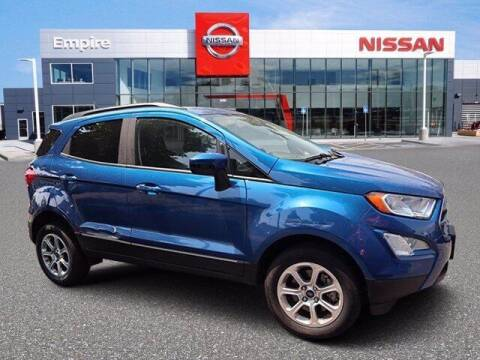 2018 Ford EcoSport for sale at EMPIRE LAKEWOOD NISSAN in Lakewood CO