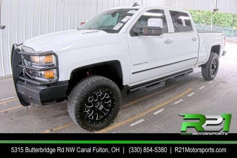 2015 Chevrolet Silverado 2500HD for sale at Route 21 Auto Sales in Canal Fulton OH