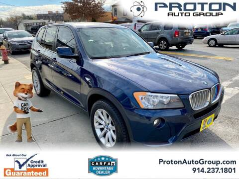2013 BMW X3 for sale at Proton Auto Group in Yonkers NY