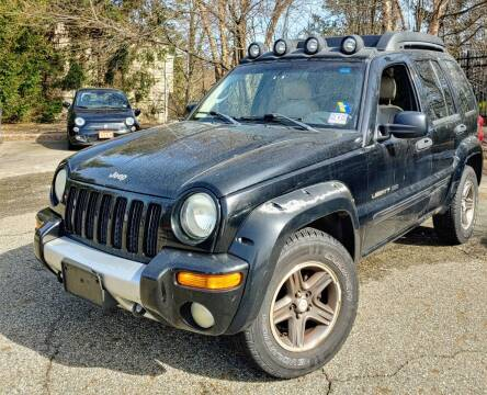 2003 Jeep Liberty for sale at CRS 1 LLC in Lakewood NJ