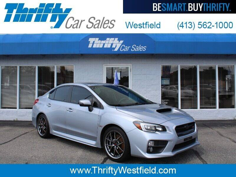 2016 Subaru WRX for sale at Thrifty Car Sales Westfield in Westfield MA