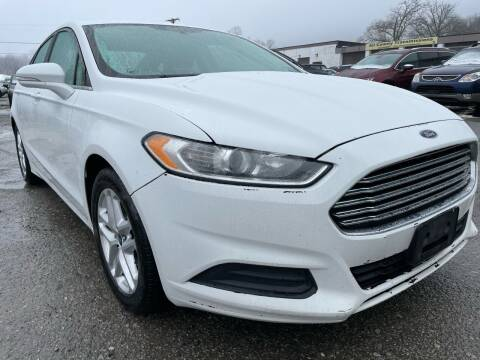 2013 Ford Fusion for sale at Ron Motor Inc. in Wantage NJ