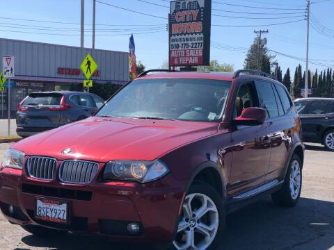 2010 BMW X3 for sale at City Motors in Hayward CA