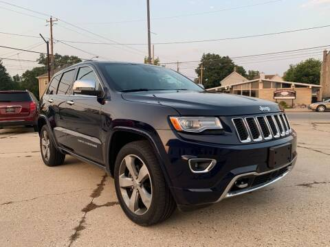 2014 Jeep Grand Cherokee for sale at Auto Gallery LLC in Burlington WI