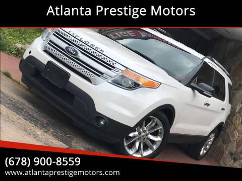 2013 Ford Explorer for sale at Atlanta Prestige Motors in Decatur GA