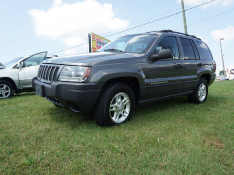 2004 Jeep Grand Cherokee for sale at CHAPARRAL USED CARS in Piney Flats TN