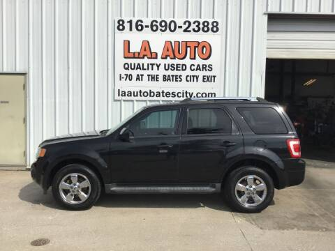 2011 Ford Escape for sale at LA AUTO in Bates City MO