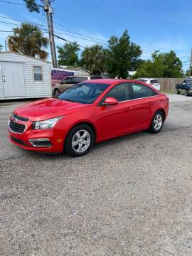 2015 Chevrolet Cruze for sale at Lucky Motors in Panama City FL