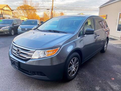 2013 Honda Odyssey for sale at Dijie Auto Sale and Service Co. in Johnston RI